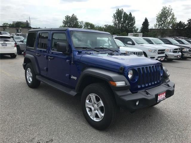 2019 Jeep Wrangler Unlimited Sport (Stk: W18677) in Newmarket - Image 7 of 11