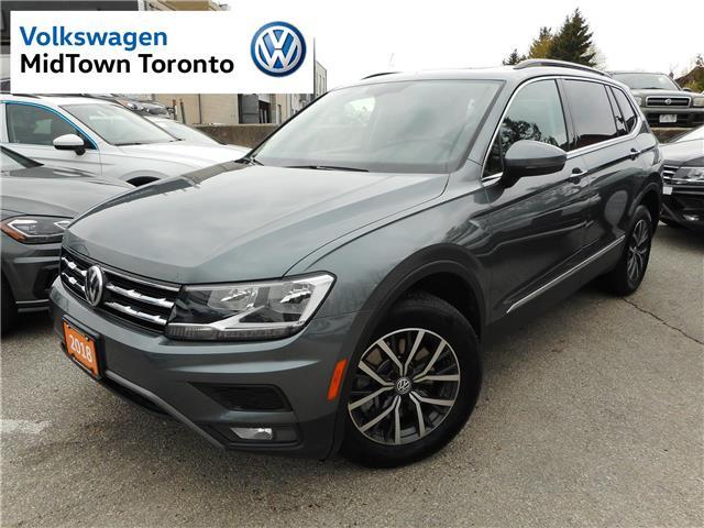 2019 Volkswagen Tiguan Comfortline (Stk: W0183) in Toronto - Image 1 of 29