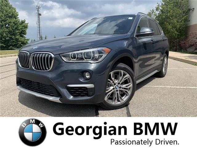 2019 BMW X1 xDrive28i (Stk: B19215) in Barrie - Image 1 of 10