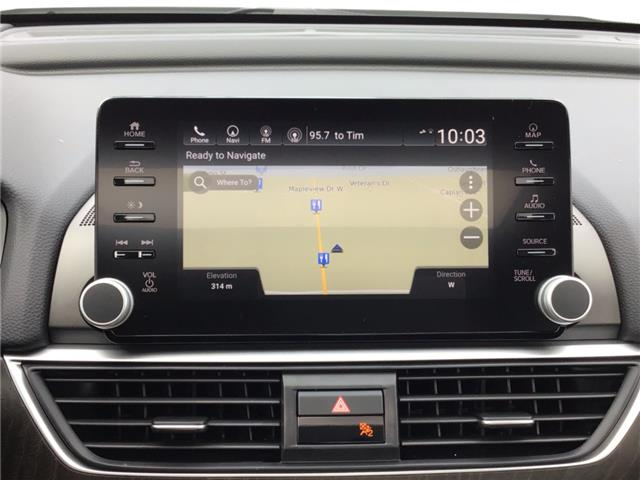 2019 Honda Accord Touring 2.0T (Stk: 19684) in Barrie - Image 2 of 23