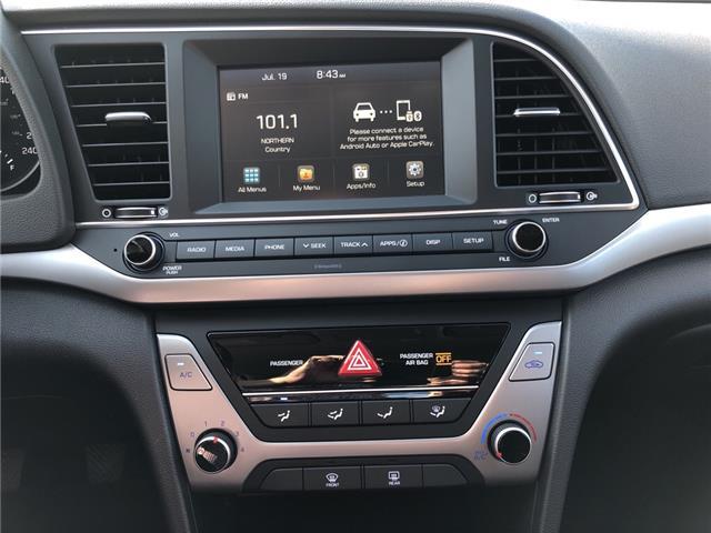 2018 Hyundai Elantra GL (Stk: -) in Kemptville - Image 17 of 29