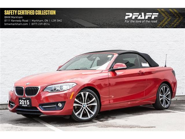 2015 BMW 228i xDrive (Stk: U12296) in Markham - Image 1 of 18