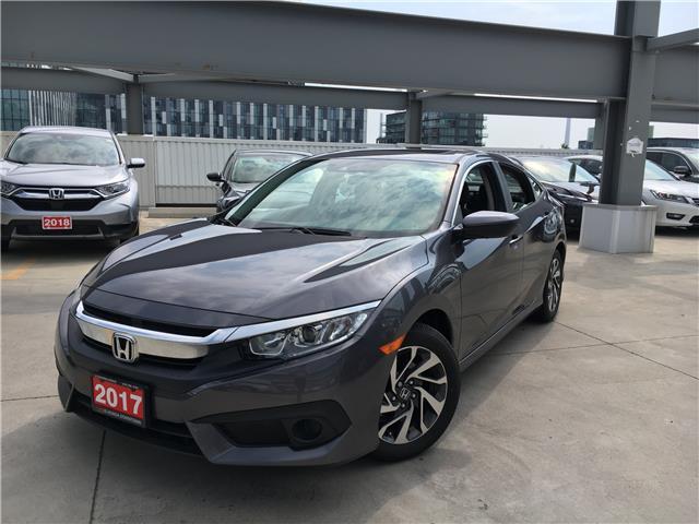 2017 Honda Civic EX (Stk: C191285A) in Toronto - Image 1 of 23