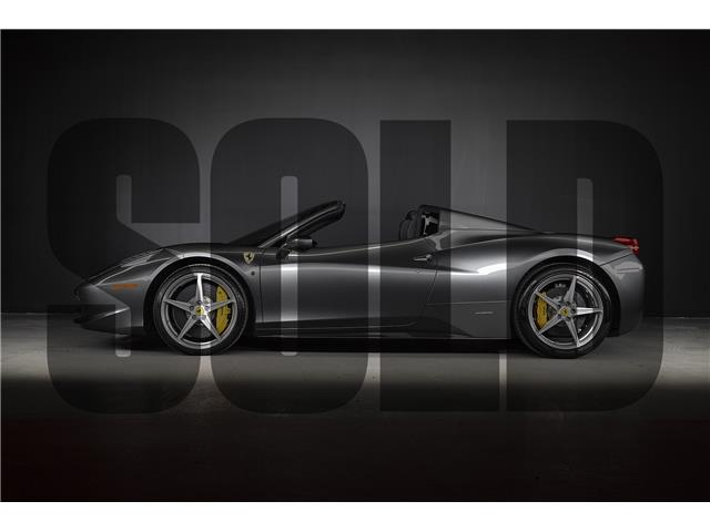 2013 Ferrari 458 Spider Base (Stk: MU2068) in Woodbridge - Image 1 of 19