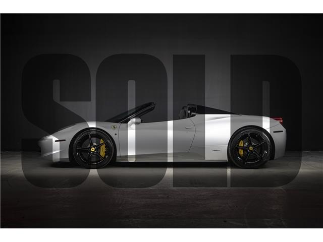 2013 Ferrari 458 Spider Base (Stk: MU1904) in Woodbridge - Image 1 of 16