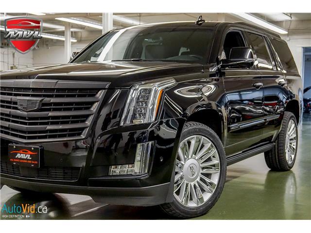 2017 Cadillac Escalade Platinum (Stk: ) in Oakville - Image 1 of 43