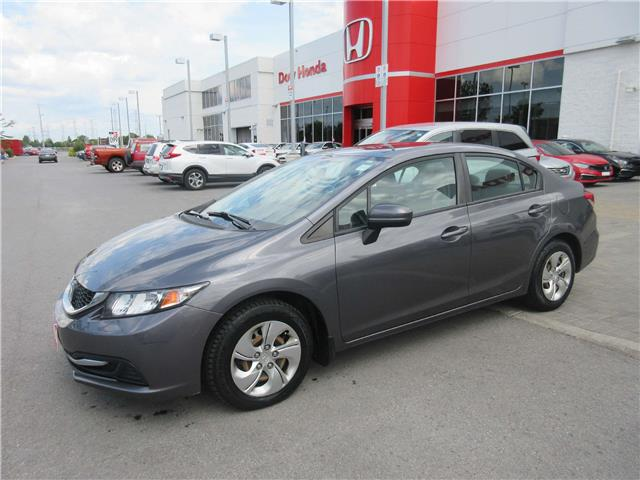 2014 Honda Civic LX (Stk: SS3533) in Ottawa - Image 1 of 10