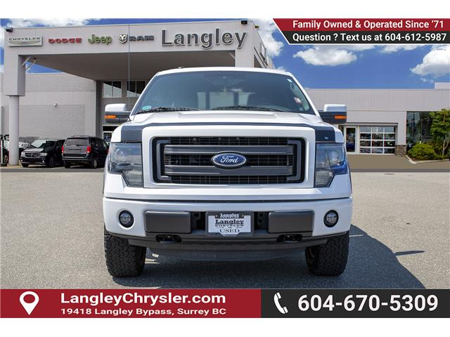 2014 Ford F-150 Lariat (Stk: EE909590A) in Surrey - Image 2 of 30