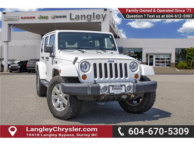 2013 Jeep Wrangler Unlimited 23G (Stk: J864102A) in Surrey - Image 1 of 24