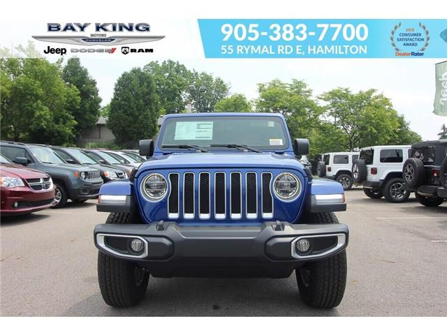 2019 Jeep Wrangler Unlimited Sahara (Stk: 197653) in Hamilton - Image 2 of 27