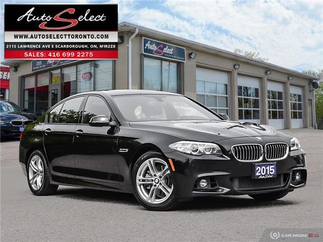2015 BMW 528i xDrive (Stk: 1MPG932) in Scarborough - Image 1 of 29