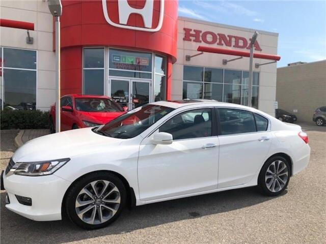 2015 Honda Accord Sport (Stk: P7124) in Georgetown - Image 1 of 10