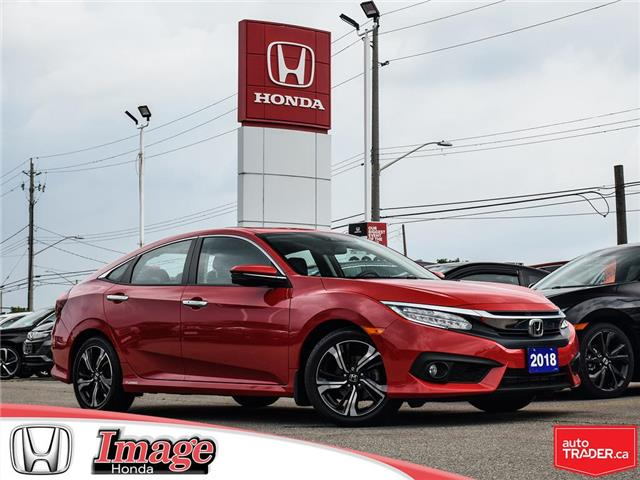 2018 Honda Civic Touring (Stk: 8C823) in Hamilton - Image 1 of 20