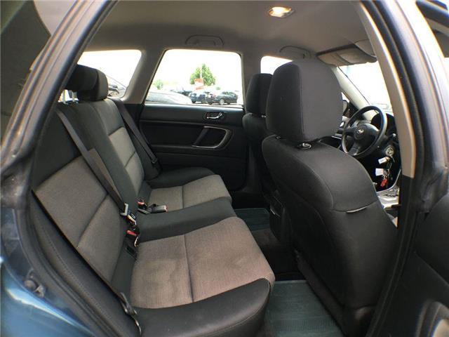 2005 Subaru Legacy I AWD ALLOY WHEELS, ROOF RACK, HEATED SEATS, KEYLE (Stk: 43076XB) in Brampton - Image 18 of 22