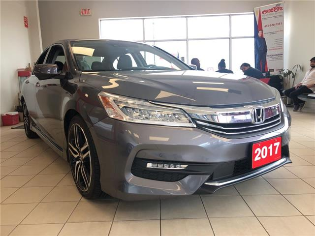 2017 Honda Accord Touring (Stk: 56900A) in Scarborough - Image 1 of 23