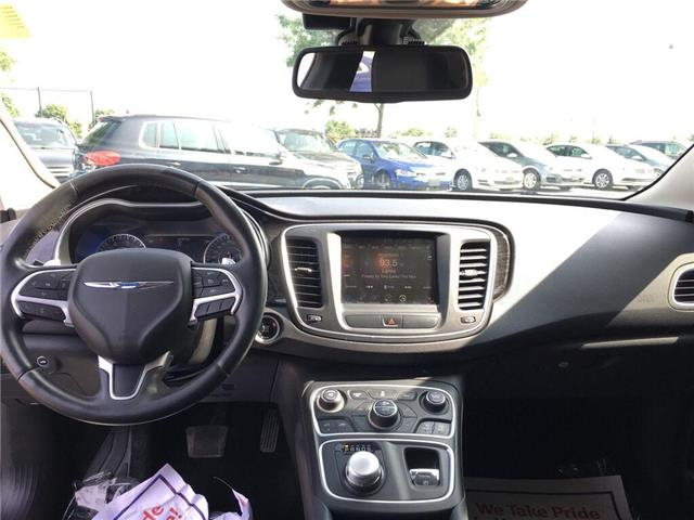 2015 Chrysler 200 C (Stk: 5853V) in Oakville - Image 11 of 30