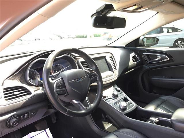 2015 Chrysler 200 C (Stk: 5853V) in Oakville - Image 16 of 30