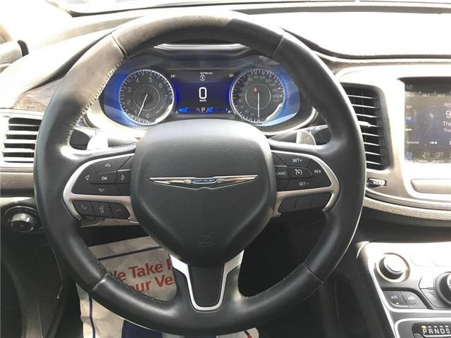 2015 Chrysler 200 C (Stk: 5853V) in Oakville - Image 18 of 30