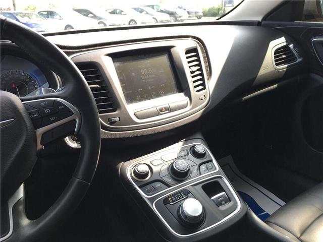 2015 Chrysler 200 C (Stk: 5853V) in Oakville - Image 21 of 30
