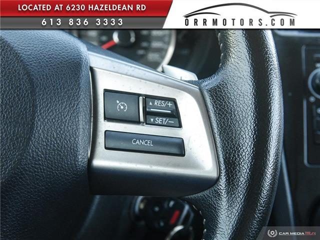 2015 Subaru Forester 2.5i Touring Package (Stk: 5771) in Stittsville - Image 24 of 29