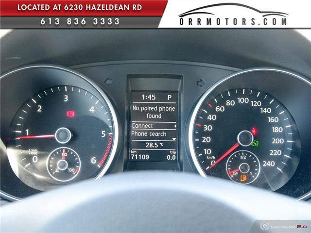2013 Volkswagen Golf 2.0 TDI Comfortline (Stk: 5794) in Stittsville - Image 14 of 28