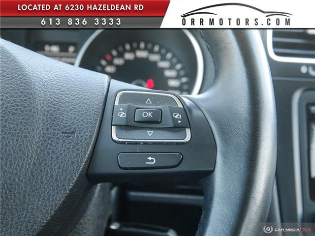 2013 Volkswagen Golf 2.0 TDI Comfortline (Stk: 5794) in Stittsville - Image 24 of 28