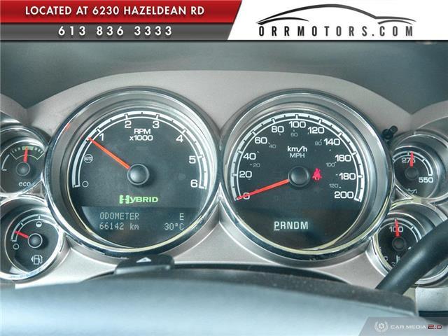 2013 Chevrolet Silverado 1500 Hybrid Base (Stk: 5571) in Stittsville - Image 14 of 24