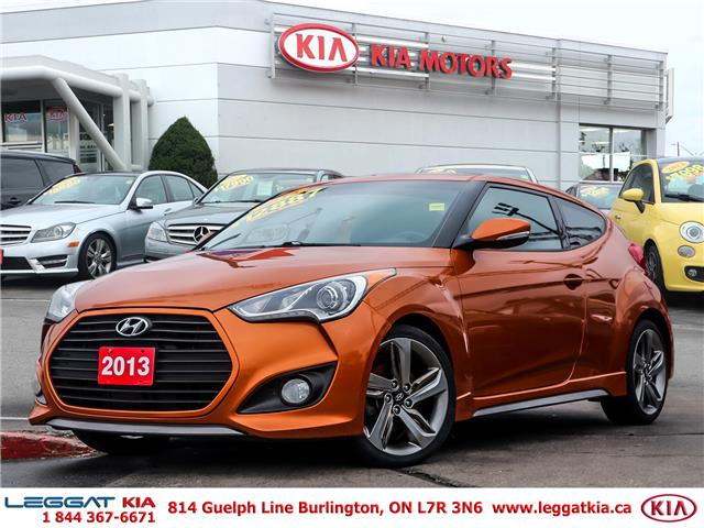 2013 Hyundai Veloster Turbo (Stk: W0117A) in Burlington - Image 1 of 27