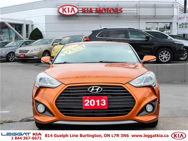 2013 Hyundai Veloster Turbo (Stk: W0117A) in Burlington - Image 2 of 27