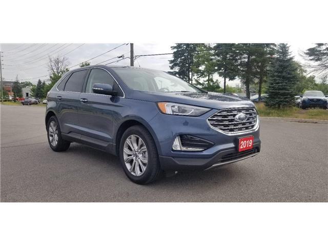 2019 Ford Edge Titanium (Stk: P8704) in Unionville - Image 1 of 9