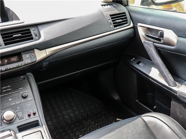 2015 Lexus CT 200h Base (Stk: 12299G) in Richmond Hill - Image 12 of 23