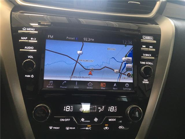 2017 Nissan Murano S (Stk: P0684) in Owen Sound - Image 9 of 11
