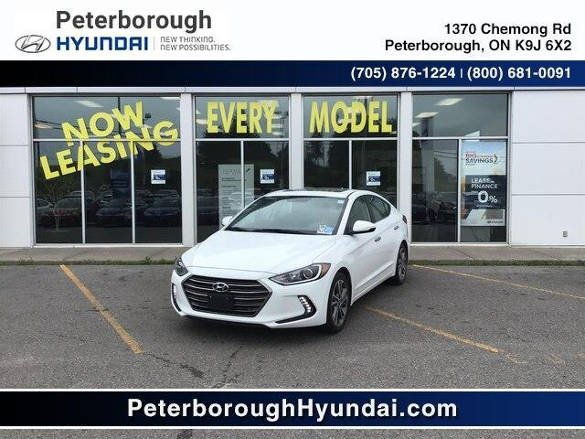 2017 Hyundai Elantra Limited (Stk: H10517) in Peterborough - Image 1 of 14
