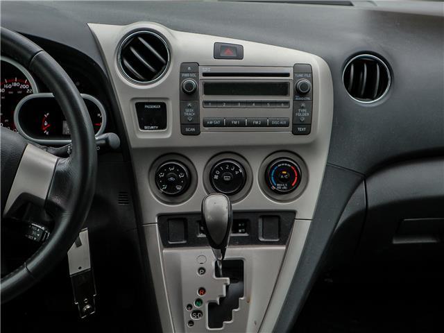 2009 Toyota Matrix XR (Stk: 12292G) in Richmond Hill - Image 12 of 22