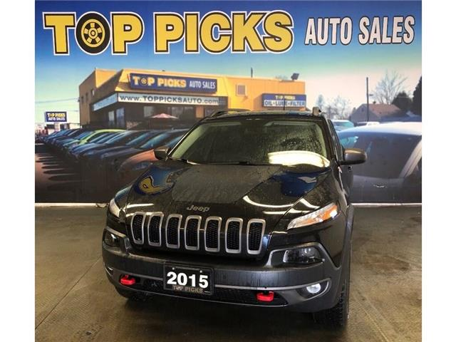 2015 Jeep Cherokee Trailhawk (Stk: 618738) in NORTH BAY - Image 1 of 29
