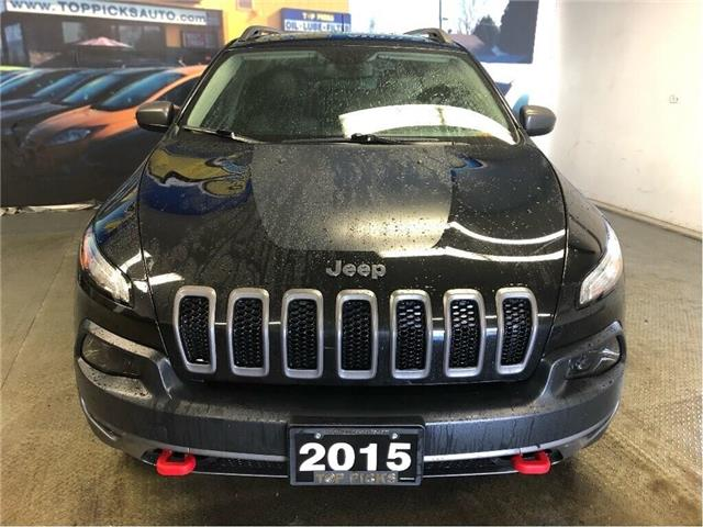 2015 Jeep Cherokee Trailhawk (Stk: 618738) in NORTH BAY - Image 2 of 29