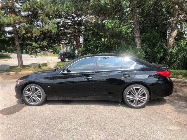2015 Infiniti Q50 AWD   LEATHER  NAVI  MOONROOF AND MORE! (Stk: 5440) in Stoney Creek - Image 2 of 22
