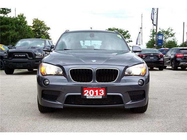2013 BMW X1 xDrive35i| M SPORTLINE| NAV| RED NEVADA LEATHER (Stk: K372B) in Burlington - Image 2 of 50