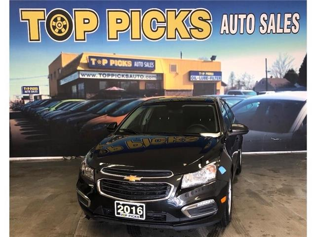 2016 Chevrolet Cruze Limited 1LT (Stk: 165143) in NORTH BAY - Image 1 of 25
