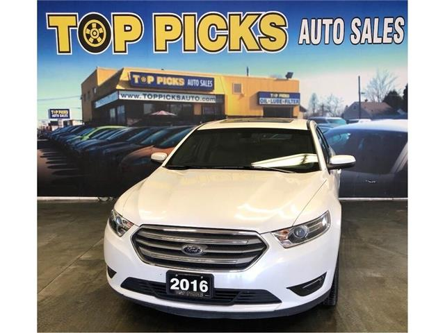 2016 Ford Taurus SEL (Stk: 148437) in NORTH BAY - Image 1 of 27