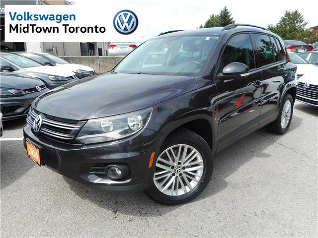 2016 Volkswagen Tiguan Special Edition (Stk: W0588A) in Toronto - Image 1 of 29