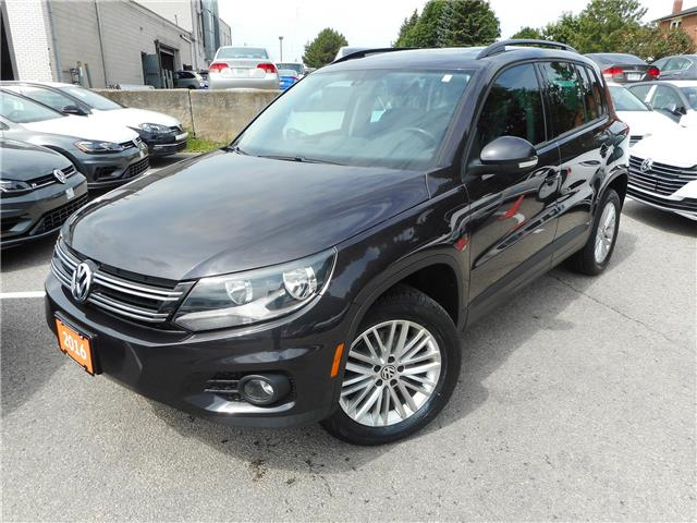 2016 Volkswagen Tiguan Special Edition (Stk: W0588A) in Toronto - Image 2 of 29
