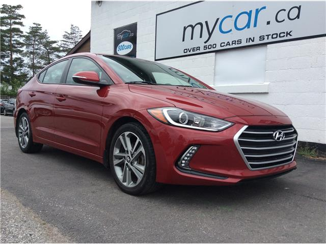 2017 Hyundai Elantra GLS (Stk: 191048) in Richmond - Image 1 of 21
