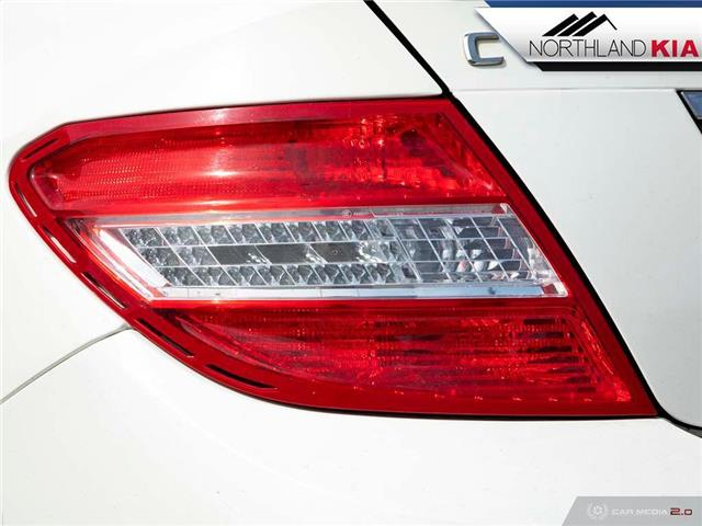 2009 Mercedes-Benz C-Class Base (Stk: 8ST2909B) in Calgary - Image 12 of 27