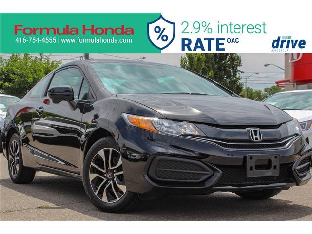 2015 Honda Civic EX (Stk: B11294) in Scarborough - Image 1 of 28