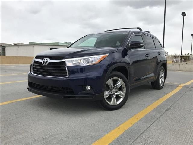 2014 Toyota Highlander Limited (Stk: P0326) in Calgary - Image 1 of 25