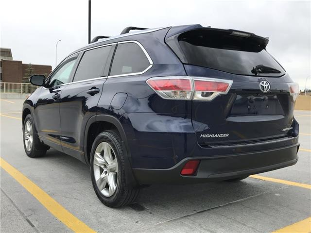 2014 Toyota Highlander Limited (Stk: P0326) in Calgary - Image 2 of 25