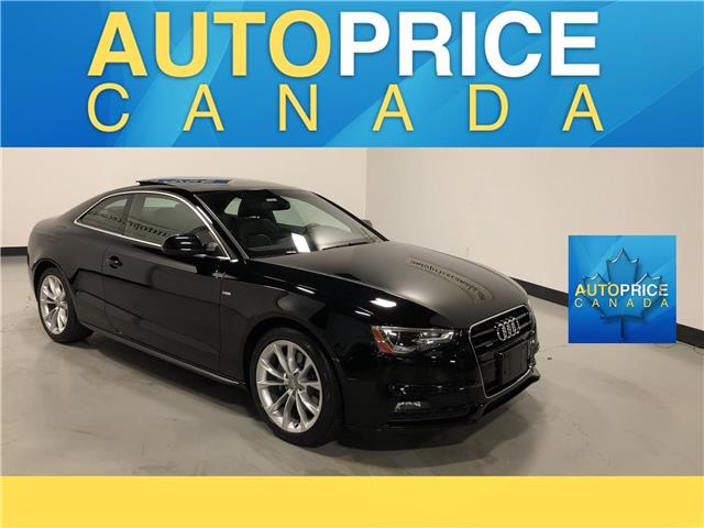 2016 Audi A5 2.0T Komfort plus (Stk: W0440) in Mississauga - Image 1 of 24