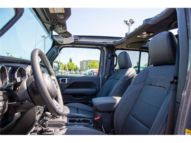 2019 Jeep Wrangler Unlimited Sahara (Stk: K647517) in Surrey - Image 10 of 27