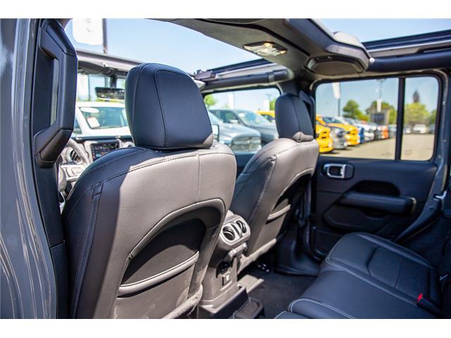 2019 Jeep Wrangler Unlimited Sahara (Stk: K647517) in Surrey - Image 11 of 27